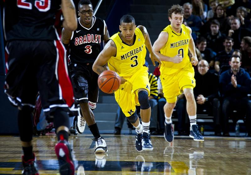 Men's Basketball Butler at Michigan