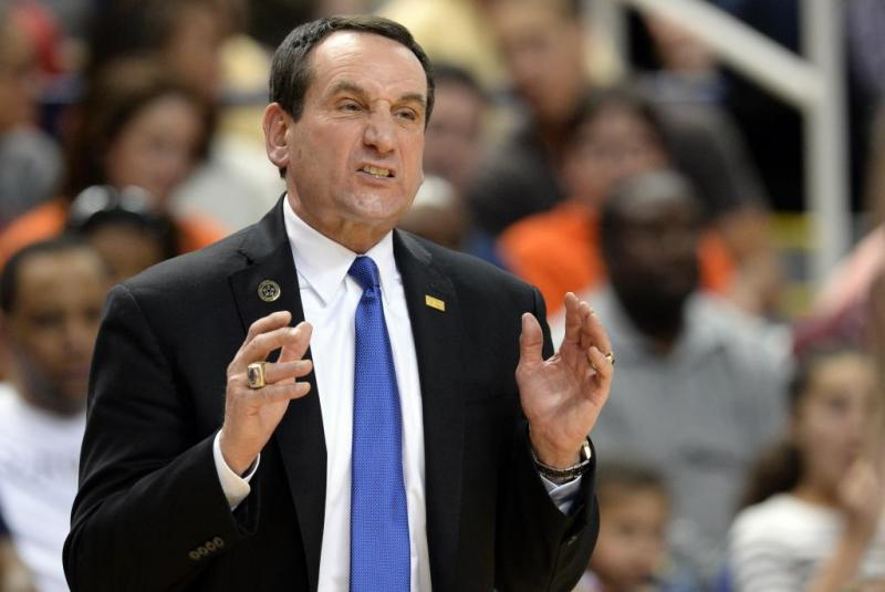 Duke Men's College Basketball; Coach K