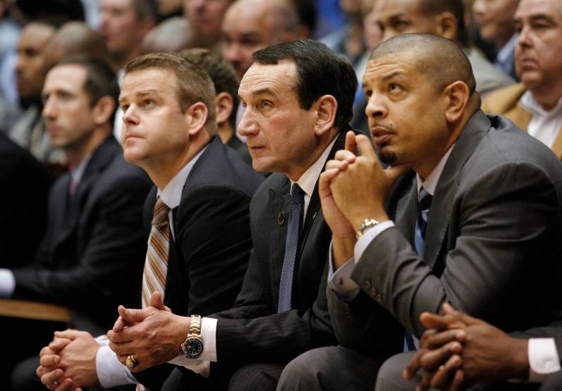 Duke Men's College Basketball Coaching Staff