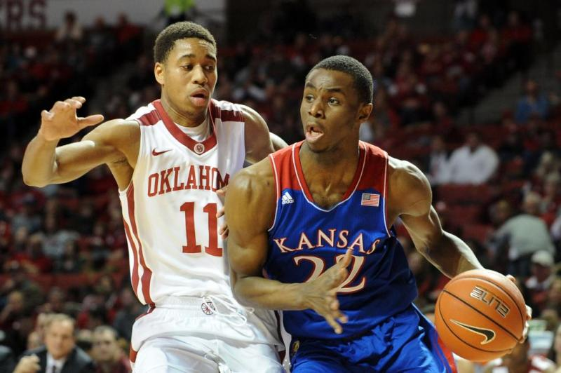 Kansas Men's College Basketball; Andrew Wiggins