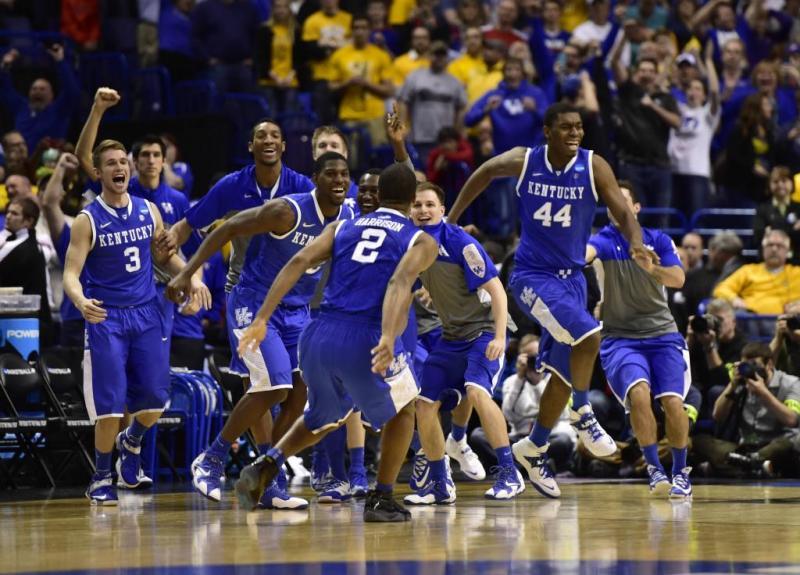 2014 15 Kentucky Wildcats Men S Basketball Team: Men's Basketball 2014 NCAA Tournament Sweet Sixteen