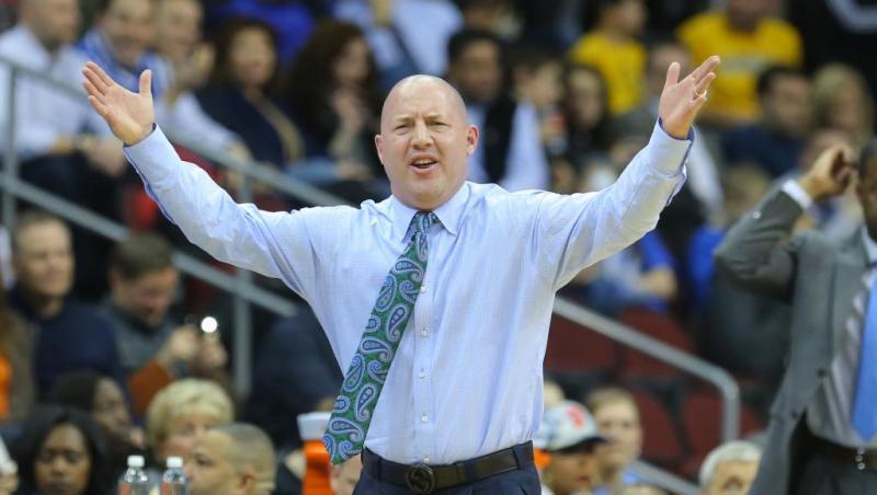 Virginia Tech Men's Basketball Coach Buzz Williams