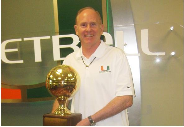 Miami Men's College Basketball Head Coach Jim Larrañaga