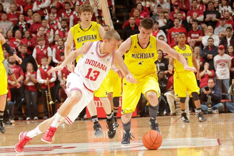 Michigan at Indiana Men's Basketball