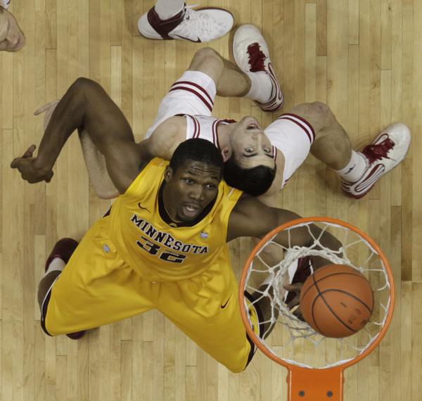 Minnesota Golden Gophers Men's College Basketball Trevor Mbakwe