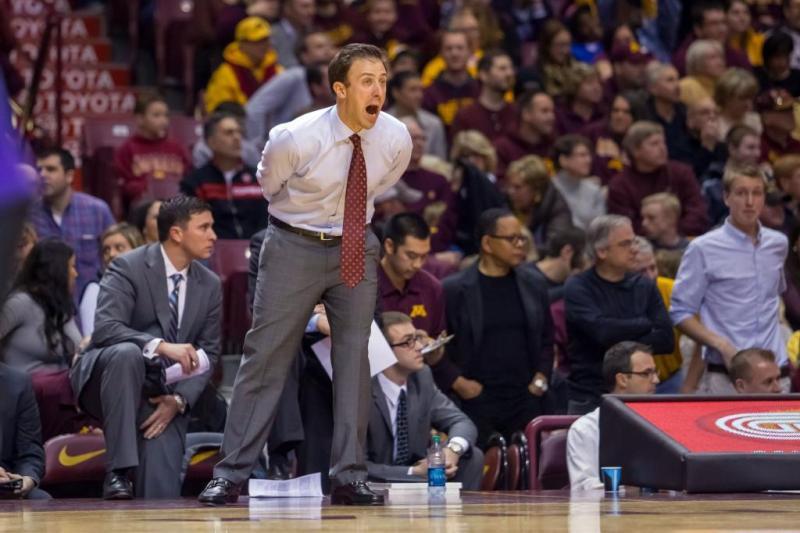 Minnesota Men's Basketball Head Coach Richard Pitino