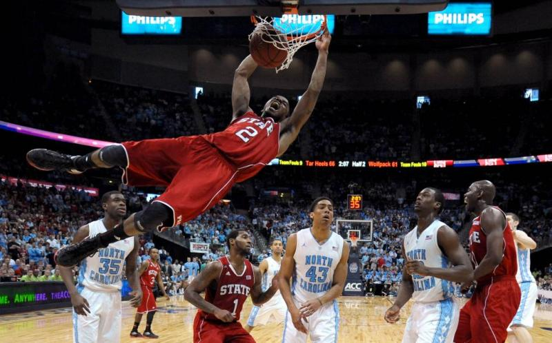 North Carolina State Men's College Basketball Lorenzo Brown