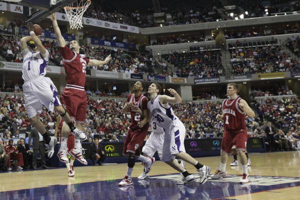 Northwestern Wildcats Men's College Basketball Drew Crawford