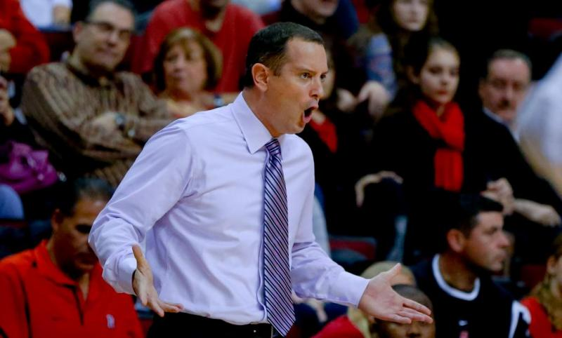 Rutgers Men's College Basketball Coach Mike Rice