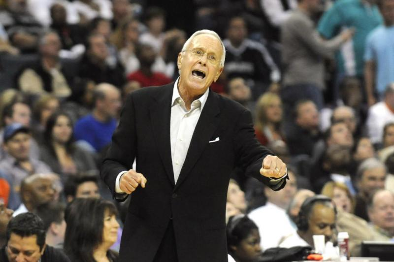 SMU College Basketball Coach Larry Brown