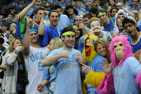 UCLA Men's College Basketball Fans