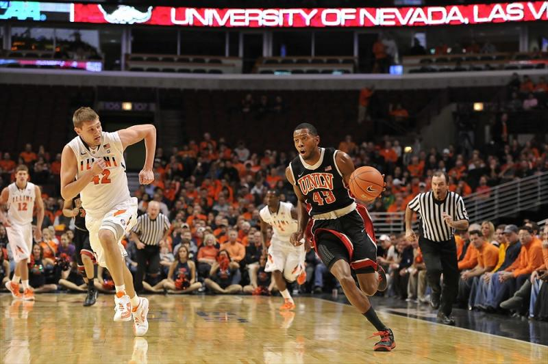 UNLV at Illinois Game Action