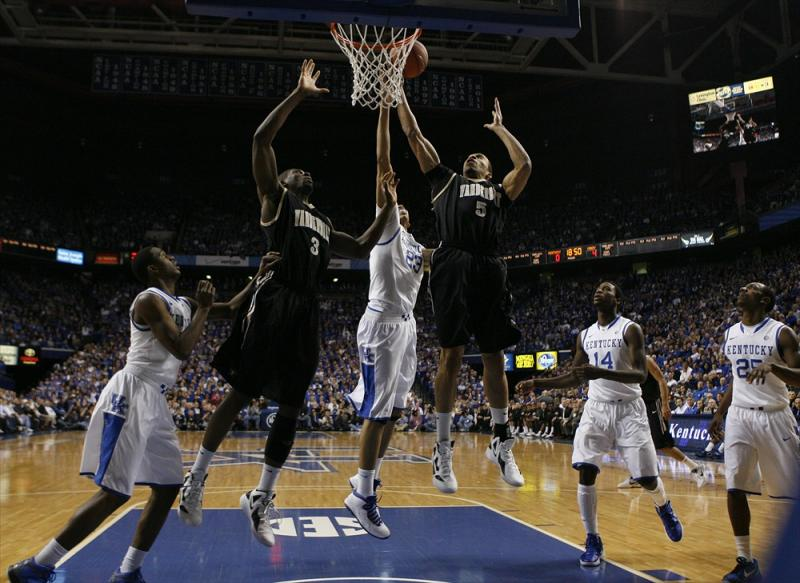 Vanderbilt at Kentucky Men's Basketball