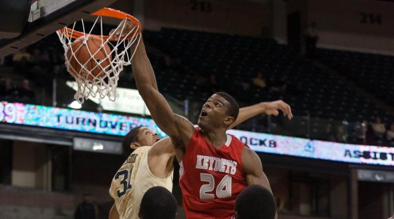 VMI Men's College Basketball; D.J. Covington