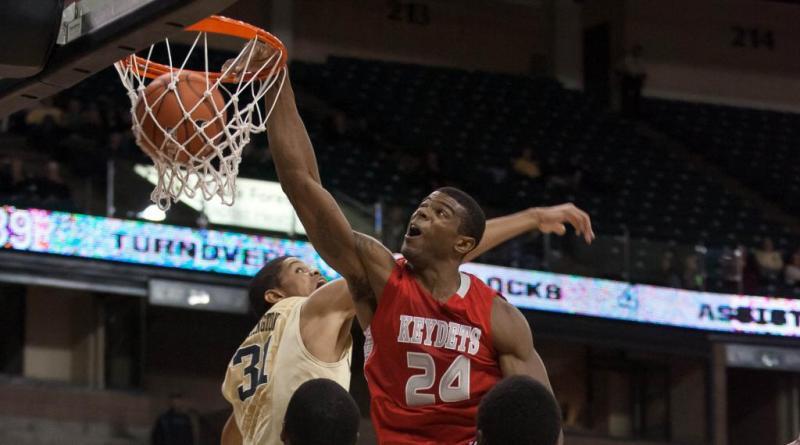 VMI Men's College Basketball; D.J. Covington