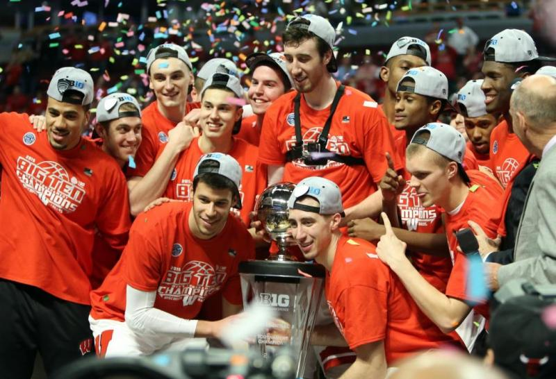 Wisconsin Big Ten Tournament Champions 2015