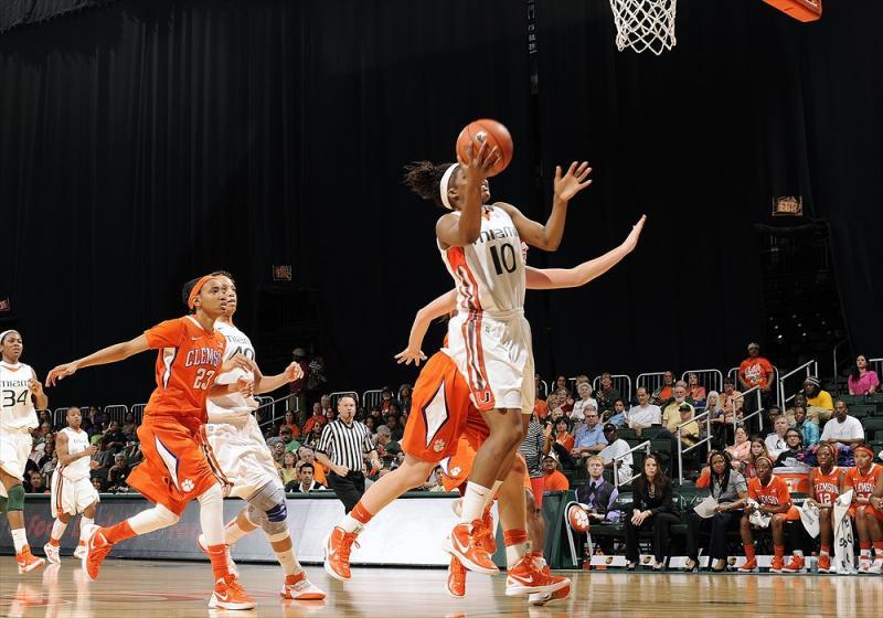 Clemson at Miami Women's Basketball