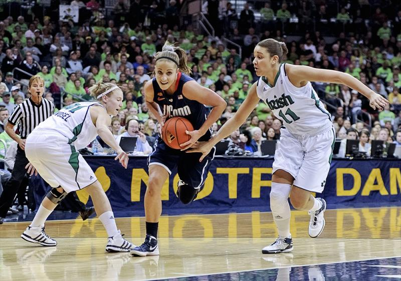 Connecticut at Notre Dame Women's Basketball