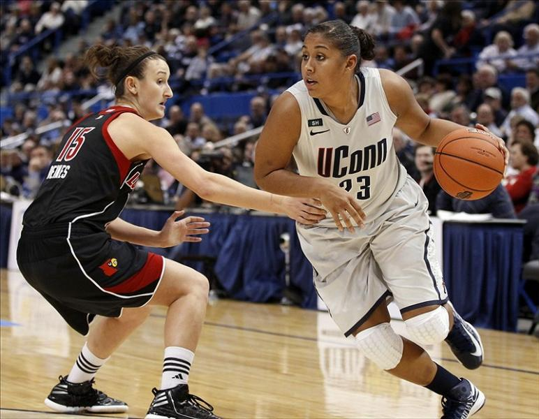 Connecticut Women's Basketball Action
