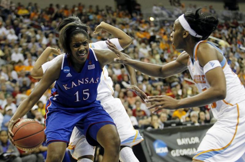 Kansas Women's College Basketball Chelsea Gardner