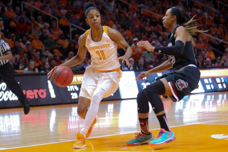 Tennessee Womens Basketball Action