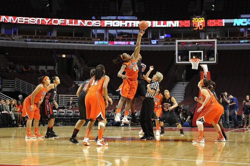 Texas Tech at Illinois game action