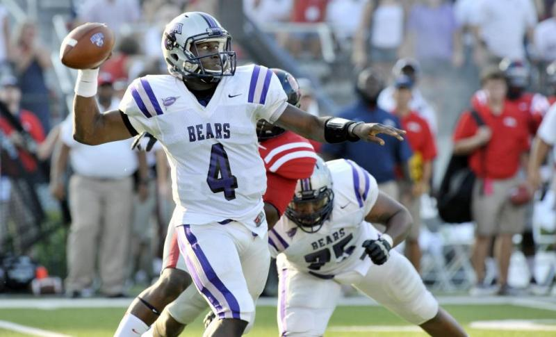 Central Arkansas FCS College Football Wynrick Smothers