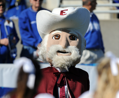 Eastern Kentucky Colonels FCS College Football Mascot