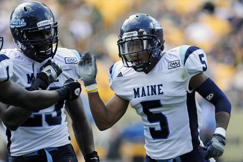 Maine Black Bears FCS College Football Kendall James