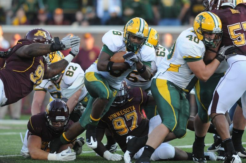North Dakota State Football Action