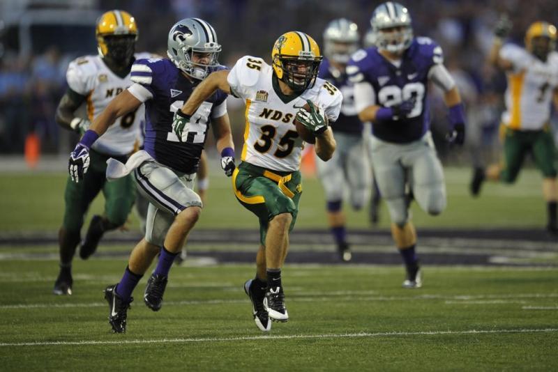 North Dakota State FCS Football; Photo by Dennis Hubbard
