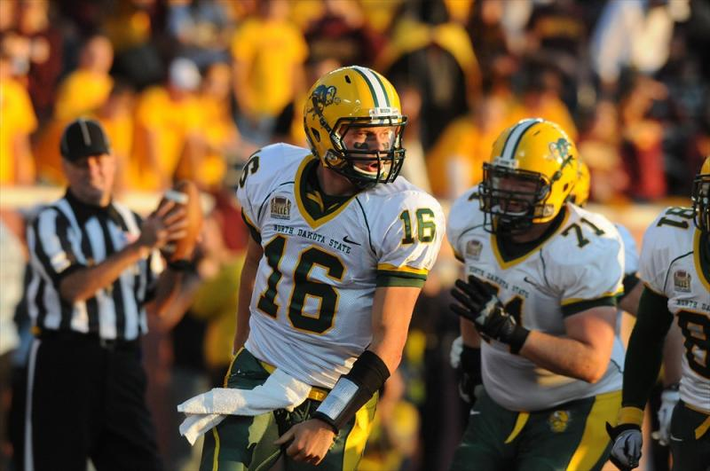 North Dakota State Football Action