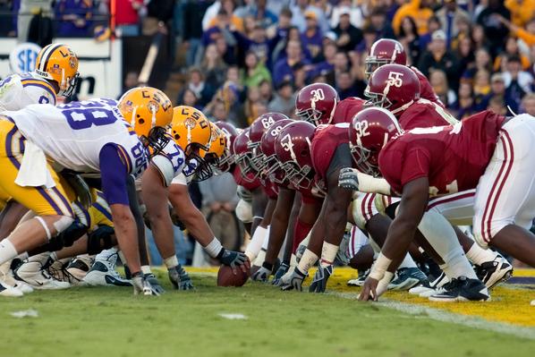 Alabama vs. LSU College Football