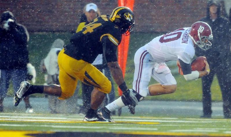 Alabama College Football A.J. McCarron