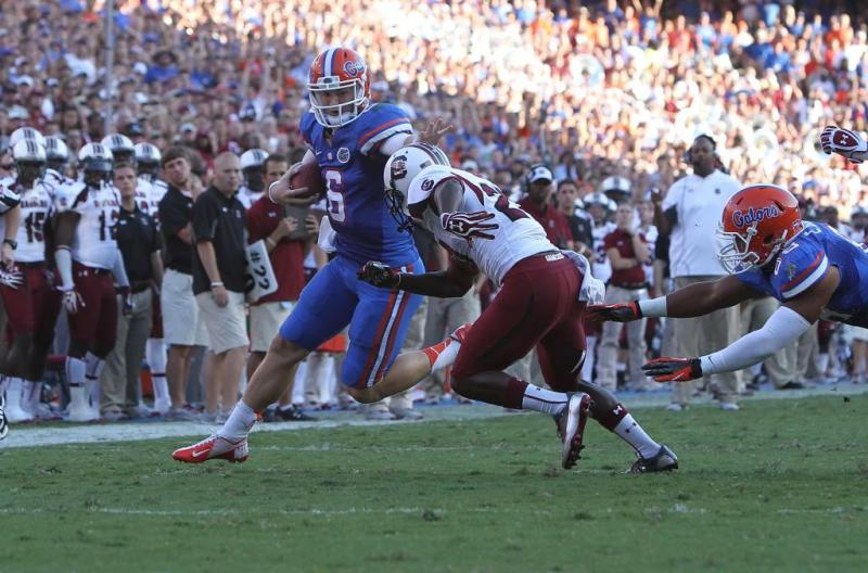 Florida College Football Quarterback Jeff Driskel