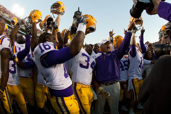 LSU College Football Celebration