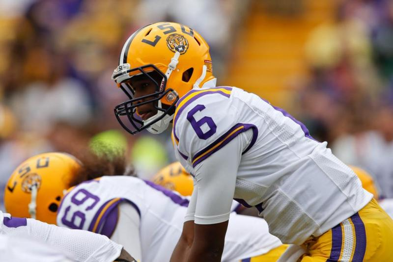 LSU College Football, Brandon Harris