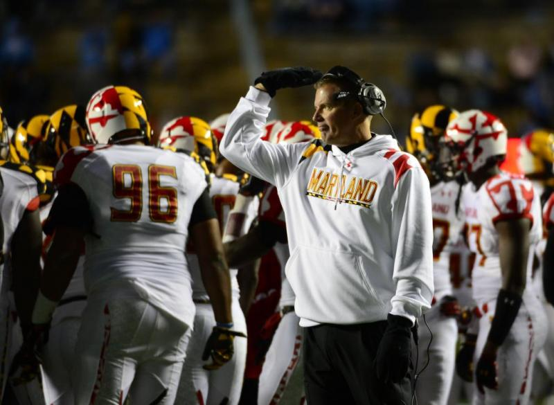 Maryland Football Coach Randy Edsall
