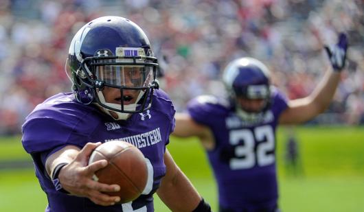 Northwestern College Football Kain Colter