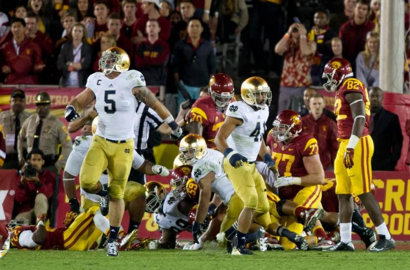 Notre Dame College Football Manti Te'o