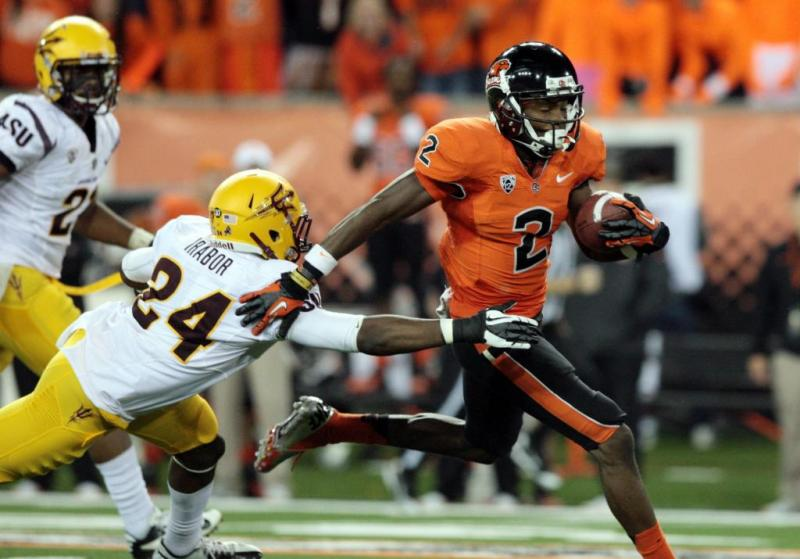 Oregon State College Football Markus Wheaton