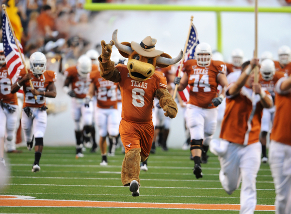Texas football bevo