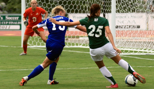 Women's College Soccer (Photo courtesy of Stan Cochrane)