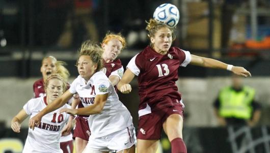 Florida State Women's College Soccer Kristen Grubka