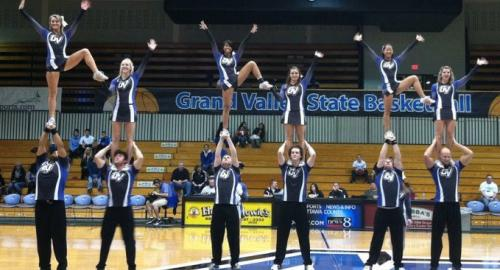 Grand Valley State University Cheer Squad