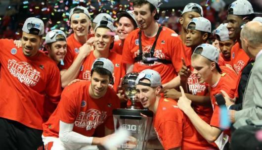 Wisconsin Big Ten Tournament Champions 2015