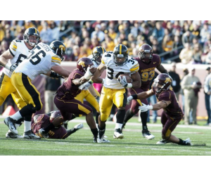 Former Iowa Running Back Marcus Coker