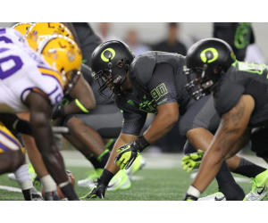 College Football Oregon Vs. LSU