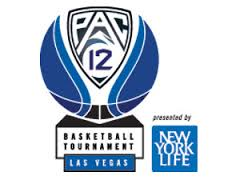 2015 Pac-12 Men's College Basketball Conference Tournament Logo