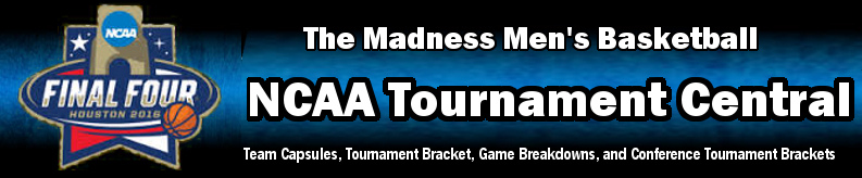 2016 Men's Basketball NCAA Tournament